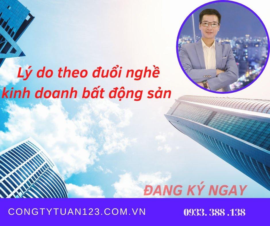 Tuyển nhân viên kinh doanh bất động sản không cần kinh nghiệm quận Tân Bình